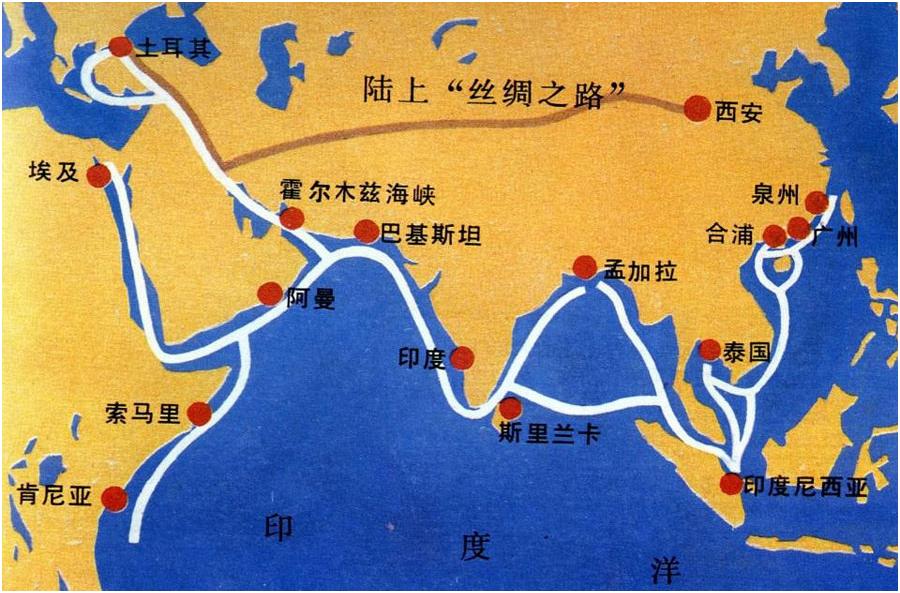 古丝绸之路文明
